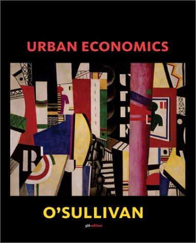 Urban Economics  5th 2003 9780072487848 Front Cover