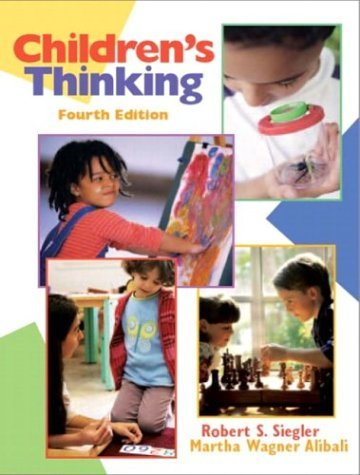 Children's Thinking  4th 2005 (Revised) edition cover