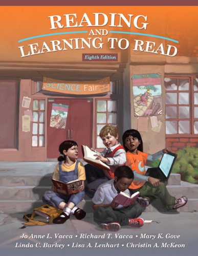 Reading and Learning to Read  8th 2012 edition cover
