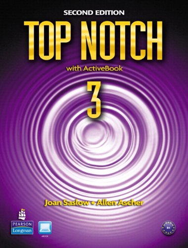 Top Notch 3 Student Book and Workbook Pack  2nd 2010 9780132794848 Front Cover