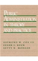Public Administration in Theory and Practice  1st 1994 9780137393848 Front Cover