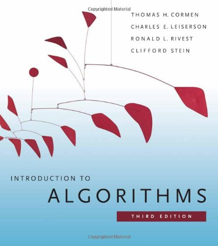 Introduction to Algorithms, Third Edition  3rd 2009 9780262033848 Front Cover