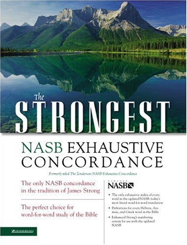 Strongest NASB Exhaustive Concordance   2004 edition cover
