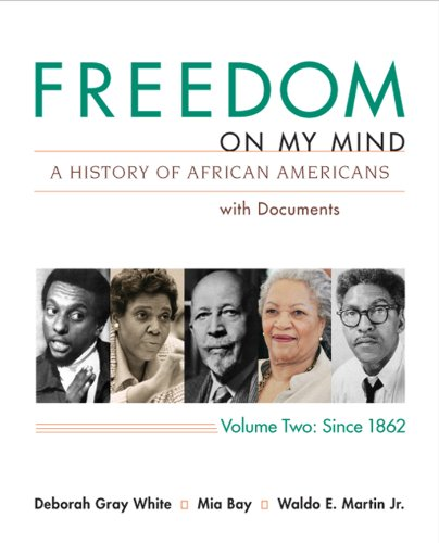 Freedom on My Mind A History of African Americans with Documents - Since 1862  2013 edition cover