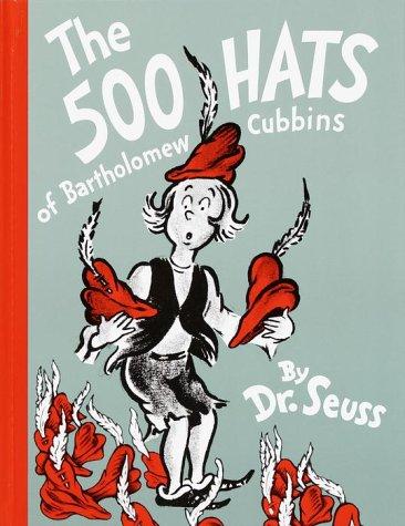 500 Hats of Bartholomew Cubbins   1965 (Reprint) edition cover