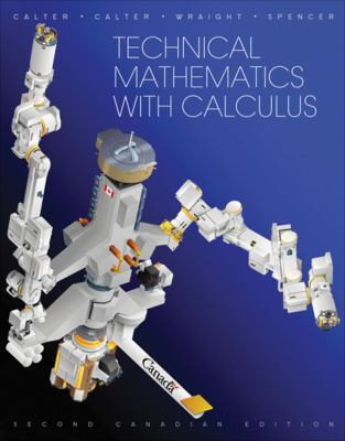 Technical Mathematics with Calculus  2nd 2012 9780470678848 Front Cover
