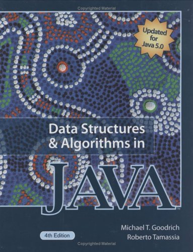 Data Structures and Algorithms in Java  4th 2006 (Revised) edition cover