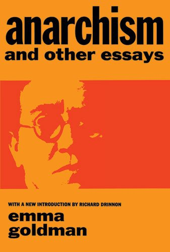Anarchism and Other Essays   1969 (Reprint) edition cover