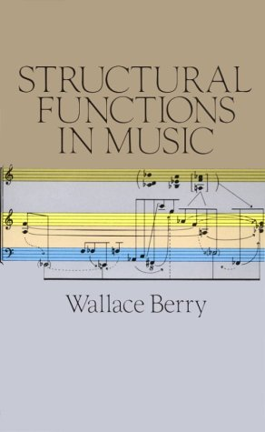 Structural Functions in Music  Reprint  edition cover