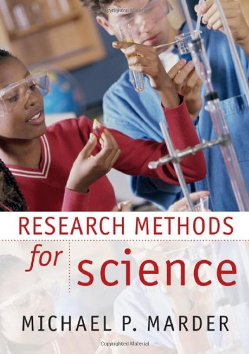 Research Methods for Science   2010 edition cover