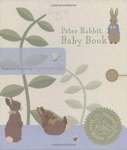 Peter Rabbit Baby Book  N/A 9780723262848 Front Cover