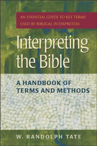 Interpreting the Bible A Handbook of Terms and Methods N/A edition cover
