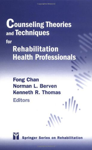 Counseling Theories and Techniques for Rehabilitation   2004 edition cover