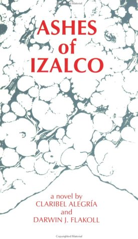 Ashes of Izalco  Reprint  edition cover