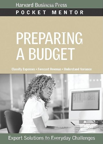Preparing a Budget   2009 edition cover