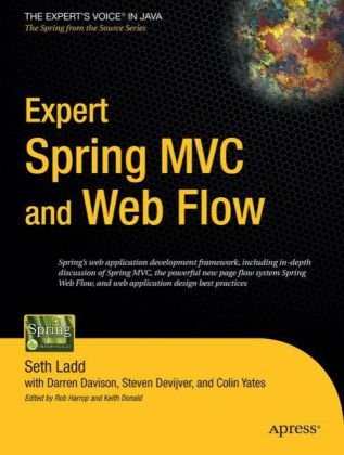 Expert Spring MVC and Web Flow   2006 9781590595848 Front Cover