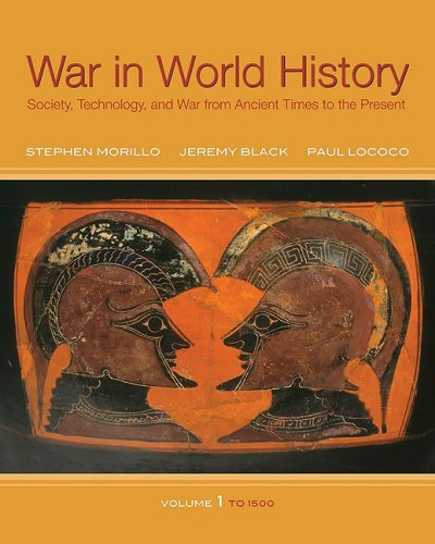 War in World History Society, Technology, and War from Ancient Times to the Present  2009 edition cover
