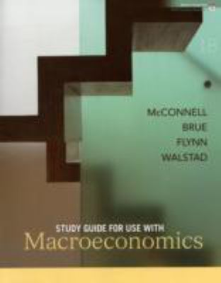 MACROECONOMICS-STD.GDE. N/A 9780073368849 Front Cover