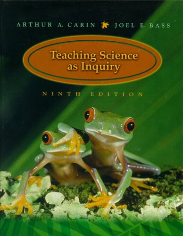 Teaching Science as Inquiry  9th 2001 edition cover