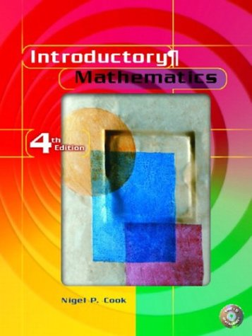 Introductory Mathematics  4th 2004 9780130452849 Front Cover