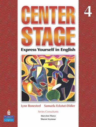 Center Stage Express Yourself in English  2007 edition cover