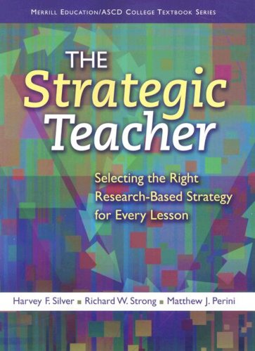 Strategic Teacher Selecting the Right Research-Based Strategy for Every Lesson  2009 edition cover