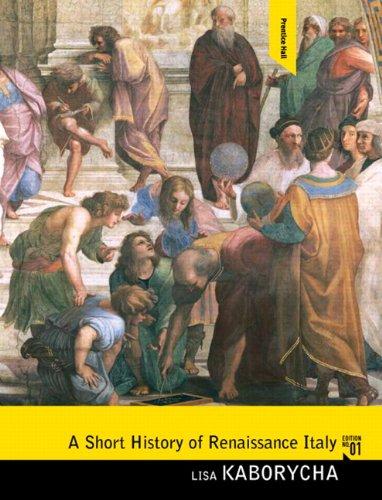 Short History of Renaissance Italy   2011 edition cover