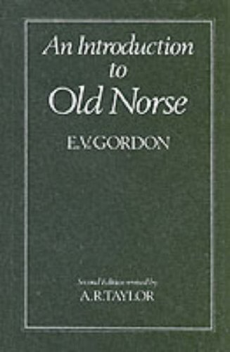 Introduction to Old Norse  2nd 1981 (Revised) edition cover