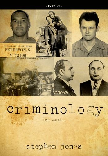 Criminology  5th 2013 9780199651849 Front Cover