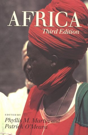 Africa  4th 1995 edition cover