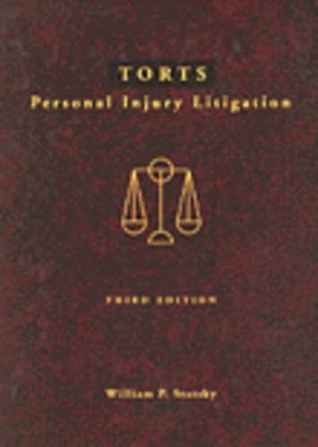 Torts Personal Injury Litigation 3rd 1995 edition cover