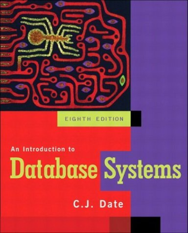 Introduction to Database Systems  8th 2004 (Revised) edition cover