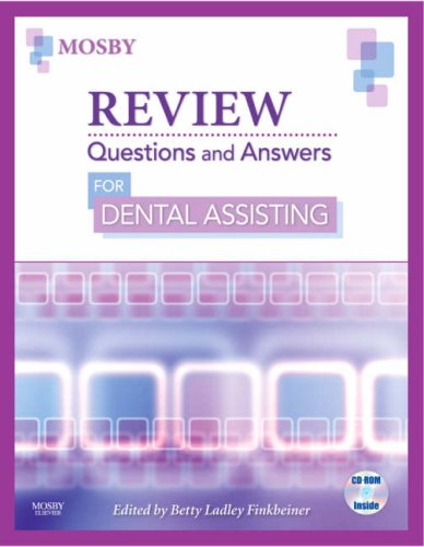 Review Questions and Answers for Dental Assisting   2008 edition cover