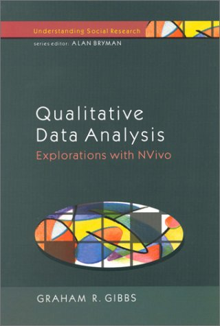 Qualitative Data Analysis: Explorations with NVivo Explorations with NVivo  2002 9780335200849 Front Cover