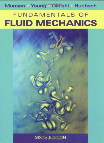 Fundamentals of Fluid Mechanics  6th 2009 edition cover