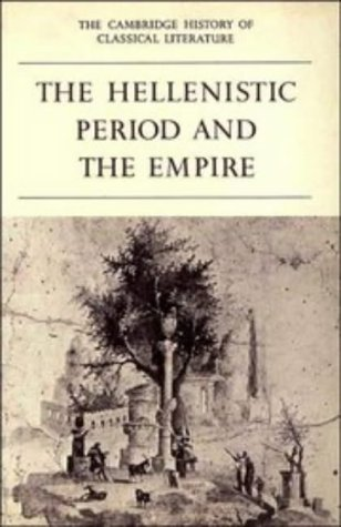 Hellenistic Period and the Empire  N/A 9780521359849 Front Cover