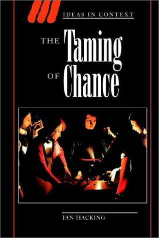 Taming of Chance   1990 edition cover