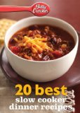 Betty Crocker 20 Best Slow Cooker Dinner Recipes  N/A 9780544314849 Front Cover