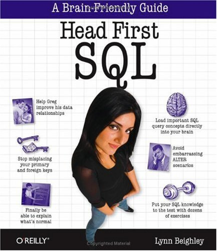 Head First SQL A Brain-Friendly Guide  2007 edition cover