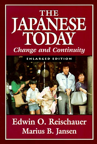 Japanese Today Change and Continuity 2nd 1988 (Enlarged) edition cover