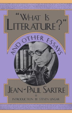 What Is Literature? and Other Essays   1988 (Reprint) edition cover