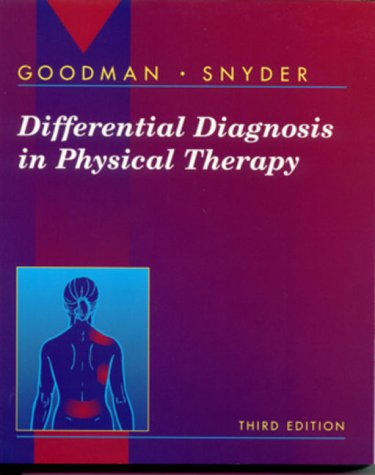 Differential Diagnosis in Physical Therapy  3rd 2000 (Revised) 9780721681849 Front Cover