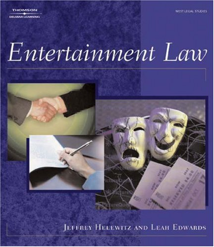 Entertainment Law   2004 edition cover
