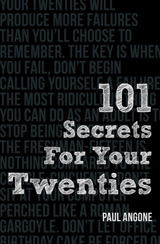 101 Secrets for Your Twenties   2013 edition cover