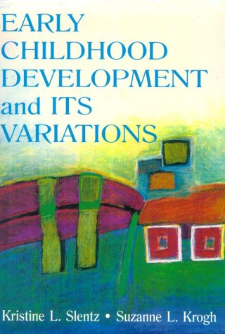Early Childhood Development and Its Variations   2001 edition cover