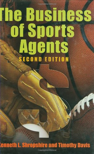 Business of Sports Agents  2nd 2008 edition cover