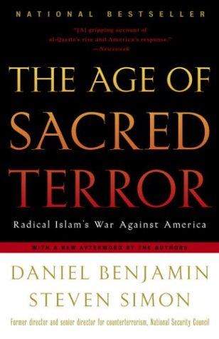 Age of Sacred Terror Radical Islam's War Against America  2003 edition cover
