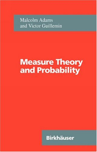 Measure Theory and Probability   1996 edition cover