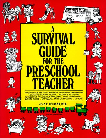 Survival Guide for the Pre-School Teacher   1991 edition cover