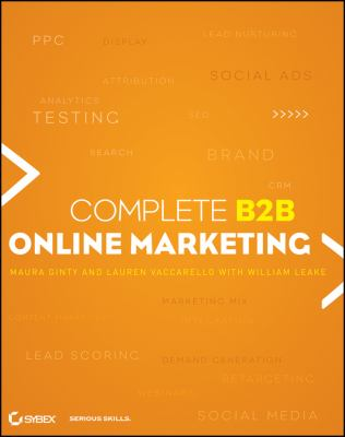 Complete B2B Online Marketing   2012 edition cover